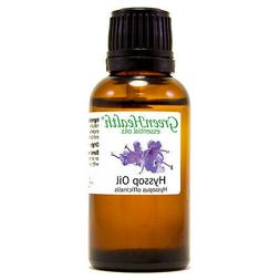 1 fl oz Hyssop Essential Oil  - GreenHealth
