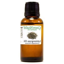 1 fl oz Lemongrass Essential Oil  - GreenHealth