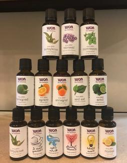 NOW Foods 1 oz Essential Oils and Blend Oils New/Sealed Free