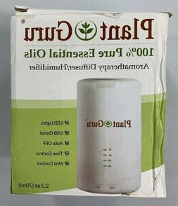 Plant Guru 100% Pure Essential Oils Aromatherapy Diffuser/Hu