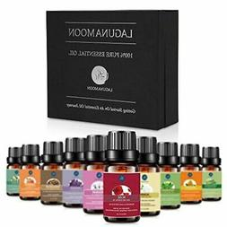 Lagunamoon 100% Pure Essential Oils Set 20 Bottles 10mls The