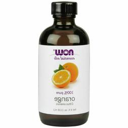 Now Foods 100% Pure Sweet Orange Essential Oil, 4 oz Aromath