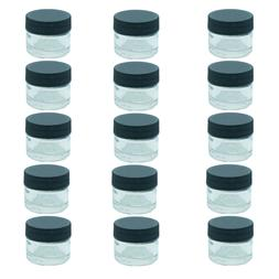 15x 5ml glass container essential oil vial