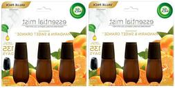 Air Wick Essential Mist Diffuser Refills Mandarin & Sweet T