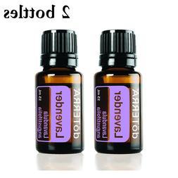 2 bottles doTERRA Lavender Therapeutic Essential Oil 15ml