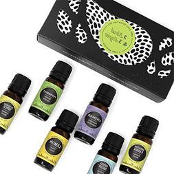 Top 3 Blends & Top 3 Single Oils Set/Kit- 6/10 ml 100% Pure