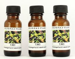 3 Dirt 1/2oz Premium Grade Scented Fragrance Oil Crazy Candl