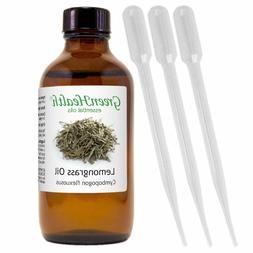 4 fl oz lemongrass essential oil 100