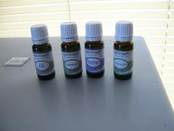4 New 10ml Bottles Plant Guru Essential Oil