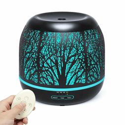 500ml Essential Oil Diffuser Humidifiers Remote Control Arom
