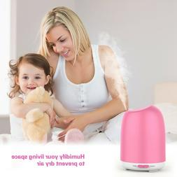 LED Ultrasonic Aromatherapy Essential Oil Diffuser Fountain