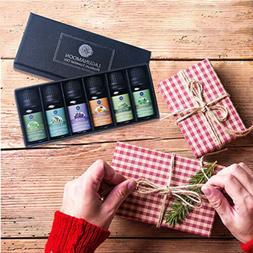 6 Gift Set Aromatherapy Pure Essential Oils Fragrance Aroma