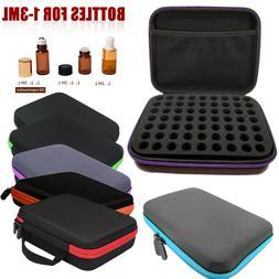 63 Bottle Essential Oil Carry Case 1-3ML Holder Storage Arom