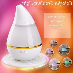 7 Colour LED Ultrasonic Aroma Humidifier Air Aromatherapy Oi