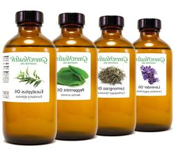 8 fl oz Essential Oil in Amber Glass, Free Shipping, 60+ Pur