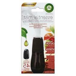 Air Wick Essential Oils Diffuser Mist Refill, Cinnamon & App