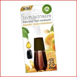 Air Wick Essential Oils Diffuser Mist Refill, Mandarin & Swe