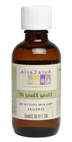 Aura Cacia Essential Oil, Sensual Ylang Ylang III, 2 fluid o