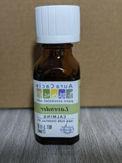 Aura Cacia Pure Essential Oil Lavender 0.5 oz
