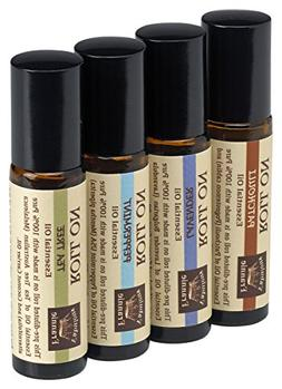 Pre-Diluted Essential Oil Roll-On Value Set made with Pure E