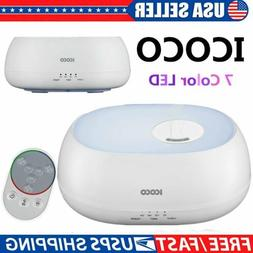 Air Aroma Essential Oil Diffuser 7 LED Ultrasonic Aroma Arom