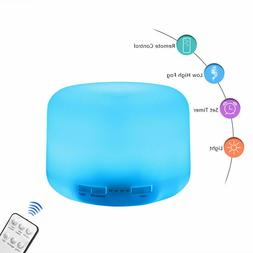 Air Humidifier 7 LED Essential Oil Diffuser Ultrasonic Aroma