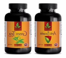 Best Antioxidant - ANTI PARASITE – GREEN TEA COMBO - black