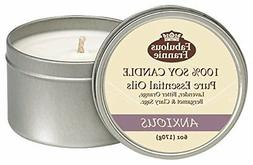 Fabulous Frannie Anxious 6oz All Natural Soy Candle made wit