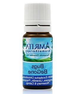 Amrita Aromatherapy - Bugs BeGone, Essential Oil Synergy, 0.