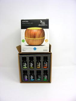 ArtNaturals Aromatherapy Essential Oil and Diffuser Gift Set