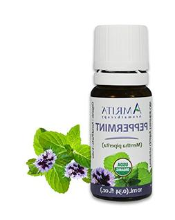 AMRITA Aromatherapy: Organic Peppermint Essential Oil - Ment
