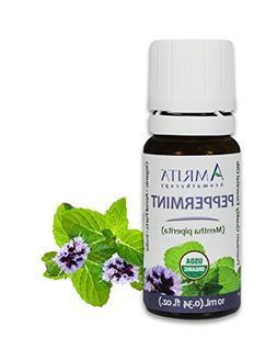 AMRITA Aromatherapy: Organic Peppermint Essential Oil - Ment