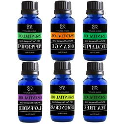 Radha Beauty Aromatherapy Top 6 Essential Oils 100% Natural