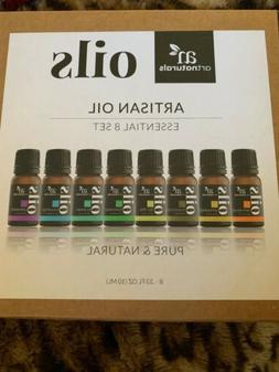 ART NATURALS ARTISAN OIL 8 ESSENTIAL OILS SET PURE & NATURAL