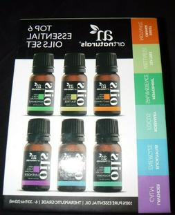 ArtNaturals Artisan Oil, Essential TOP 6 Set - 6 pack, 0.33