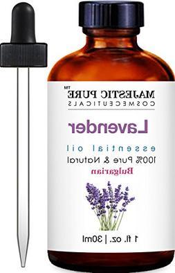 Majestic Pure Bulgarian Lavender Essential Oil, 100% Pure an