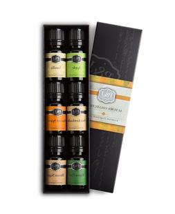 Autumn Set of 6 Premium Grade Fragrance Oils - Brown Sugar,