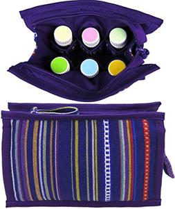 Medium Essential Oils Travel Case | Holds 8: 5mL - 10mL - 15