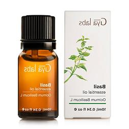 Basil Essential Oil - 100% Pure Therapeutic Grade for Hair,