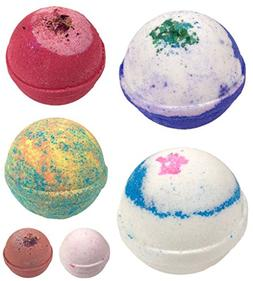 Rocky Mountain Bath Bombs Gift Set of 6. Organic & Natural I