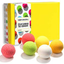 """Lagunamoon Bath Bombs """"Passion for Peace"""" Gift Set with"""