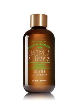Bath and Body Works Almond and Vanilla Body Oil with Natural