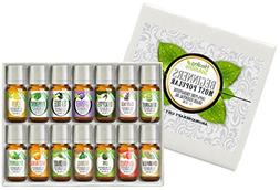 Essential Oil - Beginners Aromatherapy Set 100% Pure, Best T