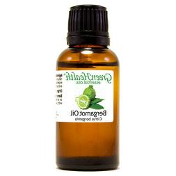1 fl oz Bergamot Essential Oil  - GreenHealth