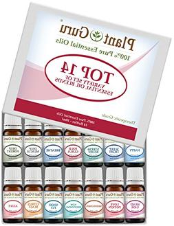 Essential Oil Blends Set 14-10 ml.100% Pure Natural Therapeu