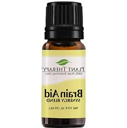 Plant Therapy Essential Oil | Brain Aid Synergy | Focus & At