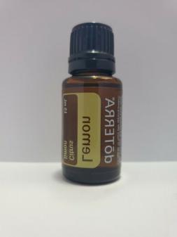 BRAND NEW doTERRA Lemon Essential Oil 0.5oz / 15ml - SEALED!