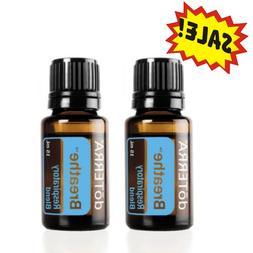 Doterra Breathe Essential Oil 2 pack 15ML New Sealed FREE SH