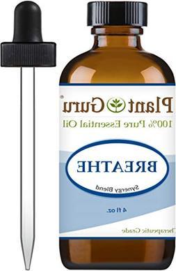 Breathe Essential Oil Blend 4 oz Respiratory Synergy 100% Pu