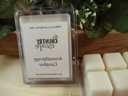 Camphor Essential Oil Scented Soy Wax Clamshell